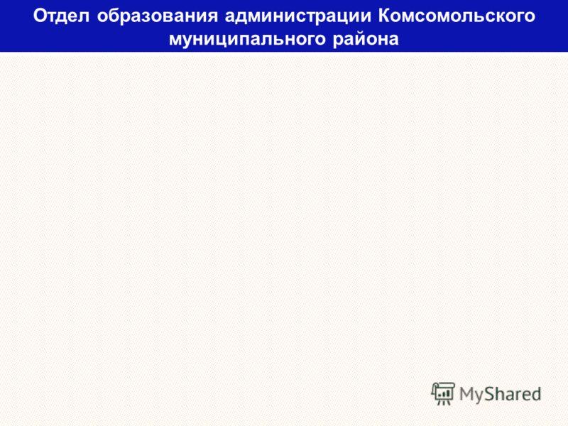 Отдел образования администрации Комсомольского муниципального района