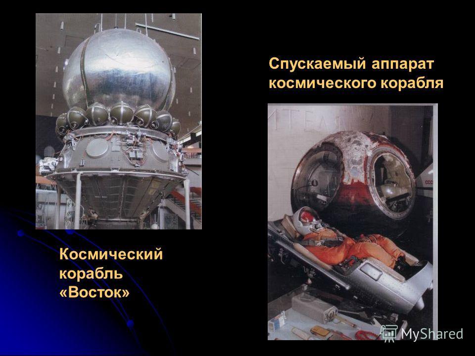Спускаемый аппарат космического корабля Космический корабль «Восток»
