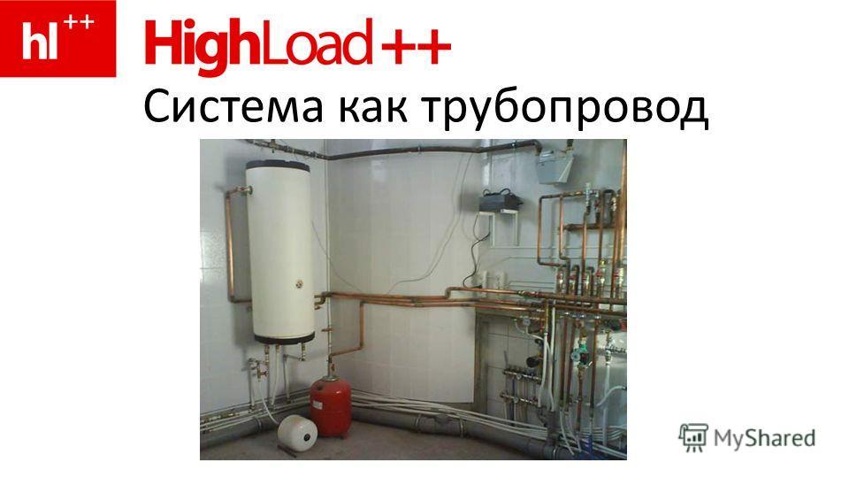 Система как трубопровод