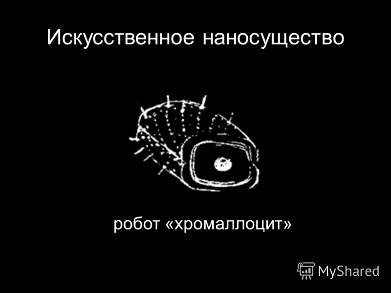 Искусственное наносущество робот «хромаллоцит»
