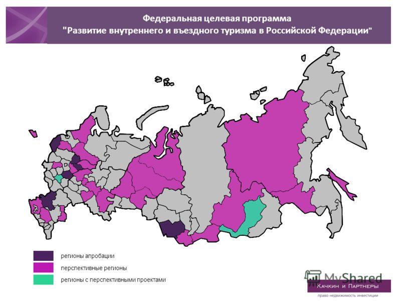 регионы апробации перспективные регионы регионы с перспективными проектами