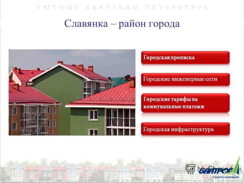 Славянка – район города