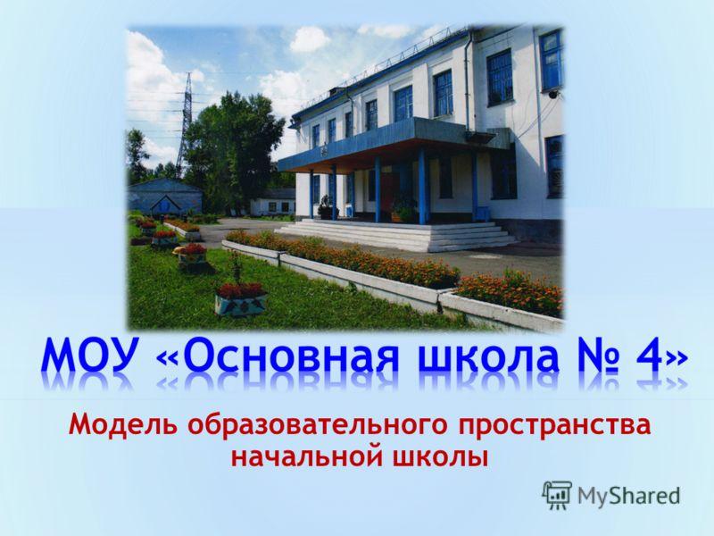 Модель образовательного пространства начальной школы