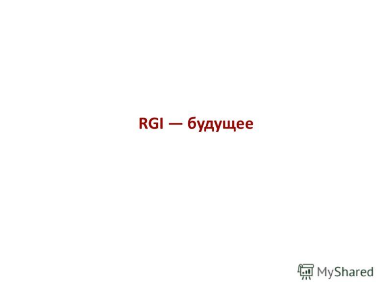 RGI будущее