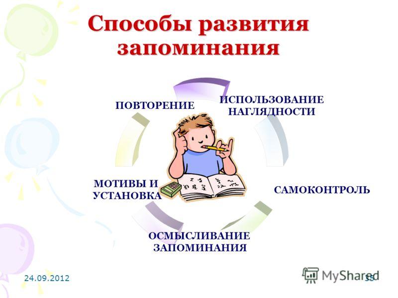 24.09.201235 Способы развития запоминания