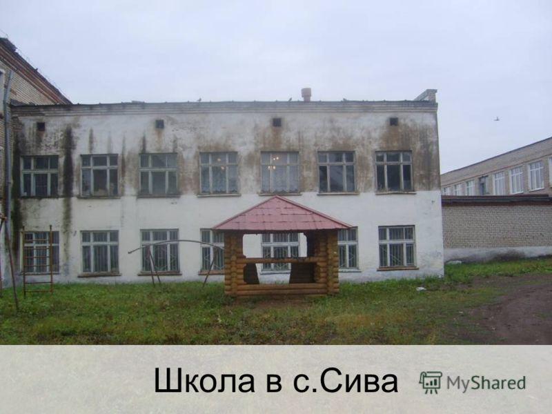 Школа в с.Сива