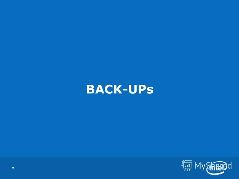 BACK-UPs 9