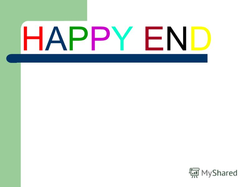 HAPPY ENDHAPPY END