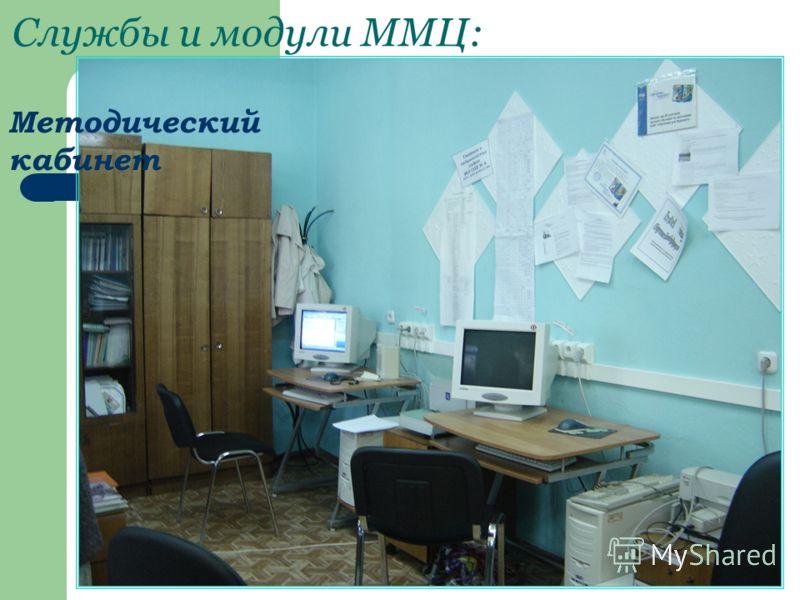 Службы и модули ММЦ: Методический кабинет