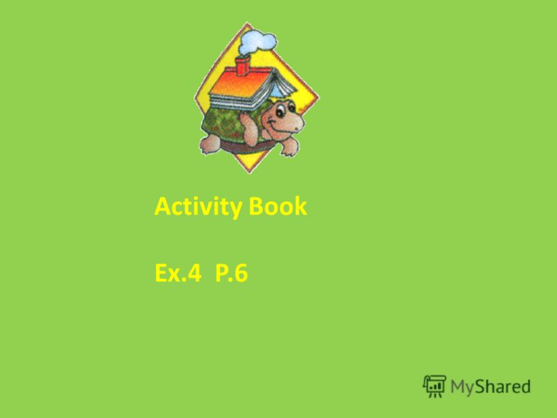 Activity Book Ex.4 P.6
