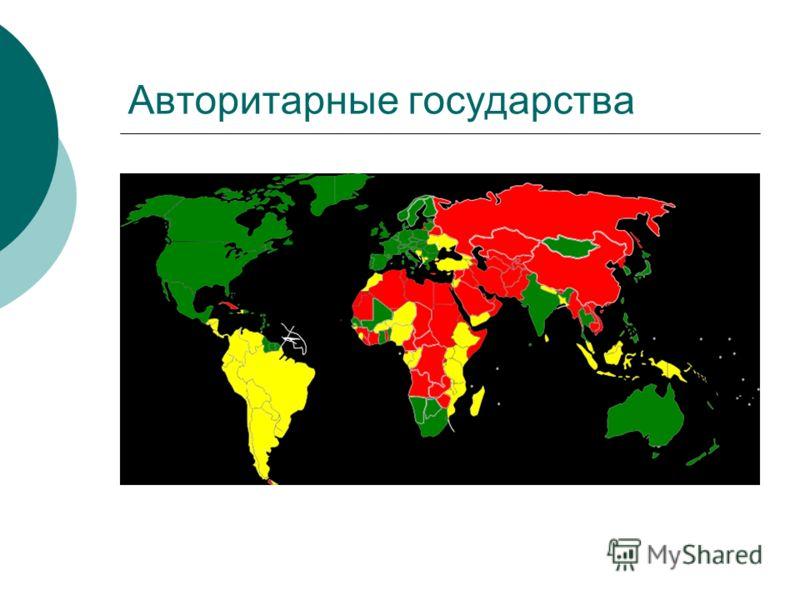 Авторитарные государства