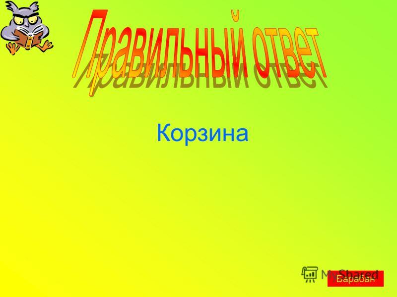 Корзина Барабан