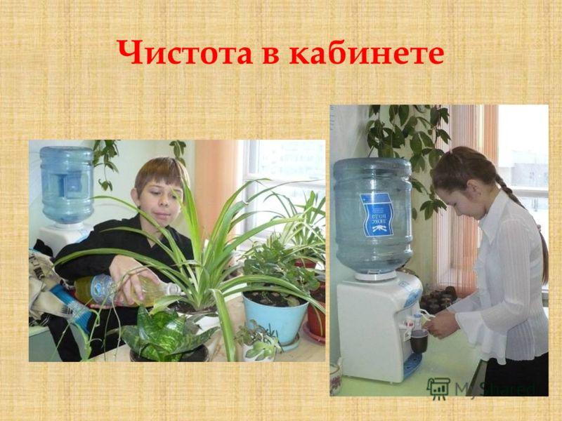 Чистота в кабинете