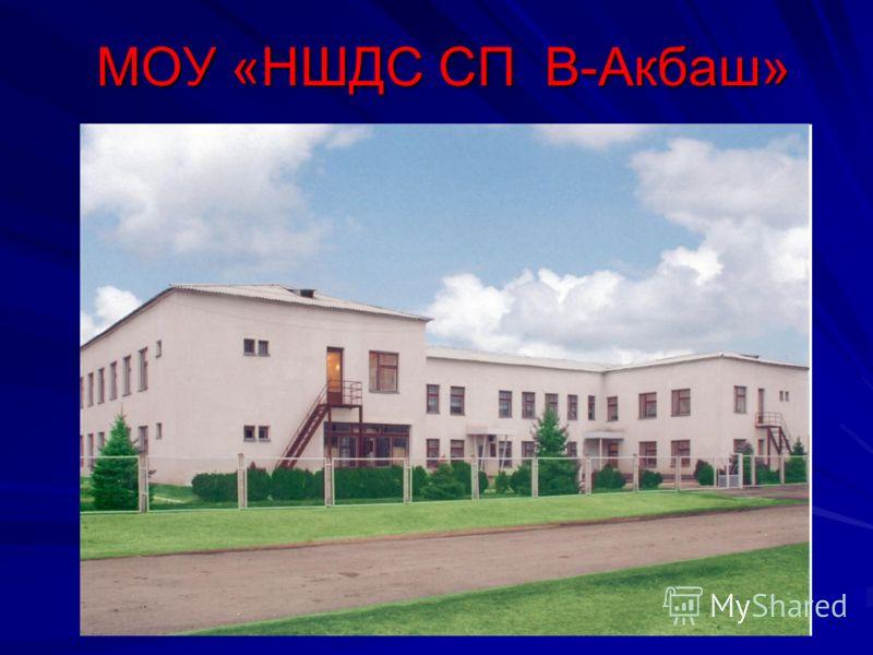 МОУ «НШДС СП В-Акбаш»