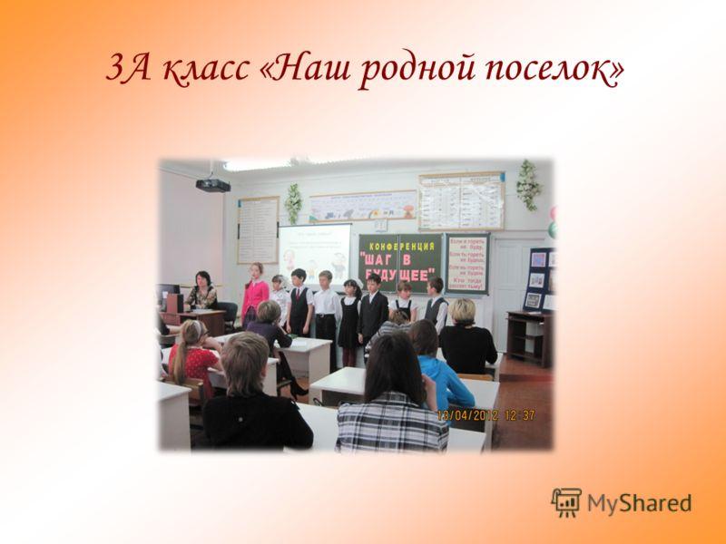 3А класс «Наш родной поселок»