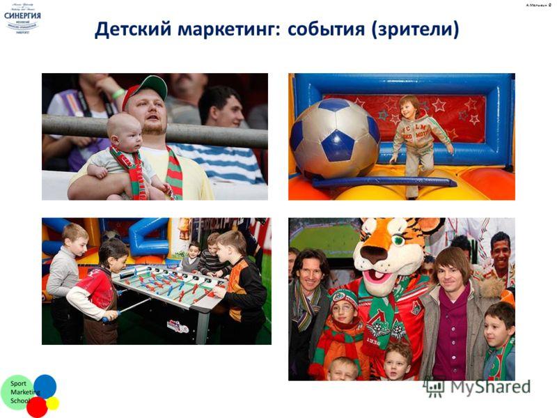 А.Малыгин © Детский маркетинг: события (зрители)