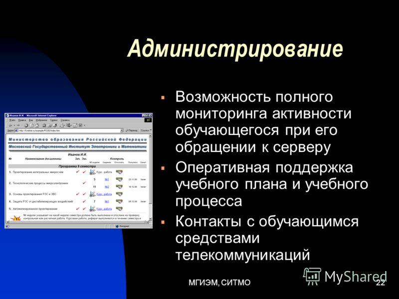 МГИЭМ, СИТМО21 Распределенное моделирование