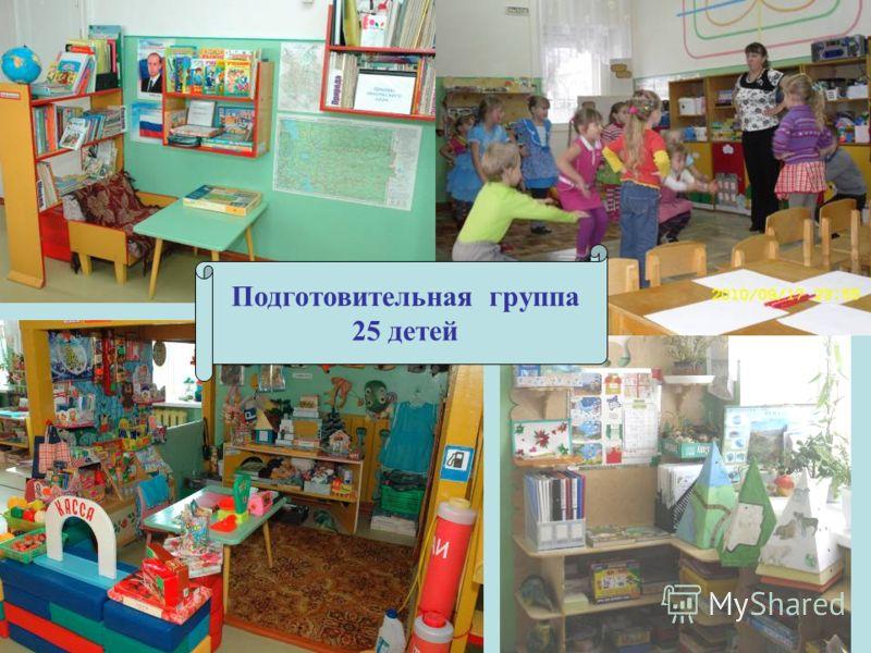 Подготовительная группа 25 детей