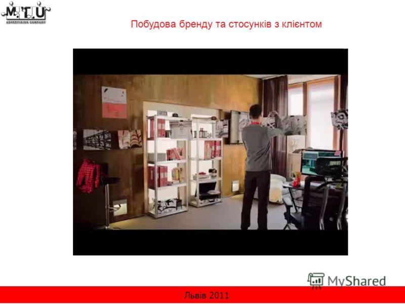 Львів 2011 Побудова бренду та стосунків з клієнтом