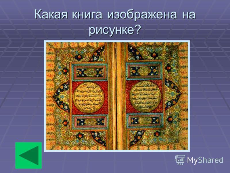 Какая книга изображена на рисунке?