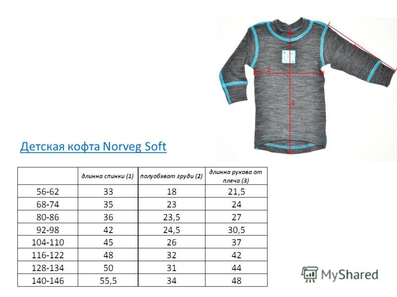 Детская кофта Norveg Soft