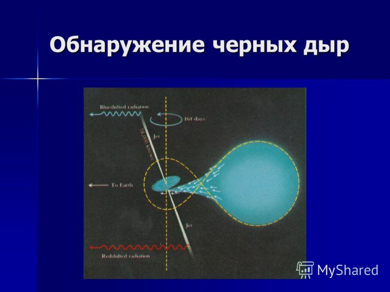 Обнаружение черных дыр