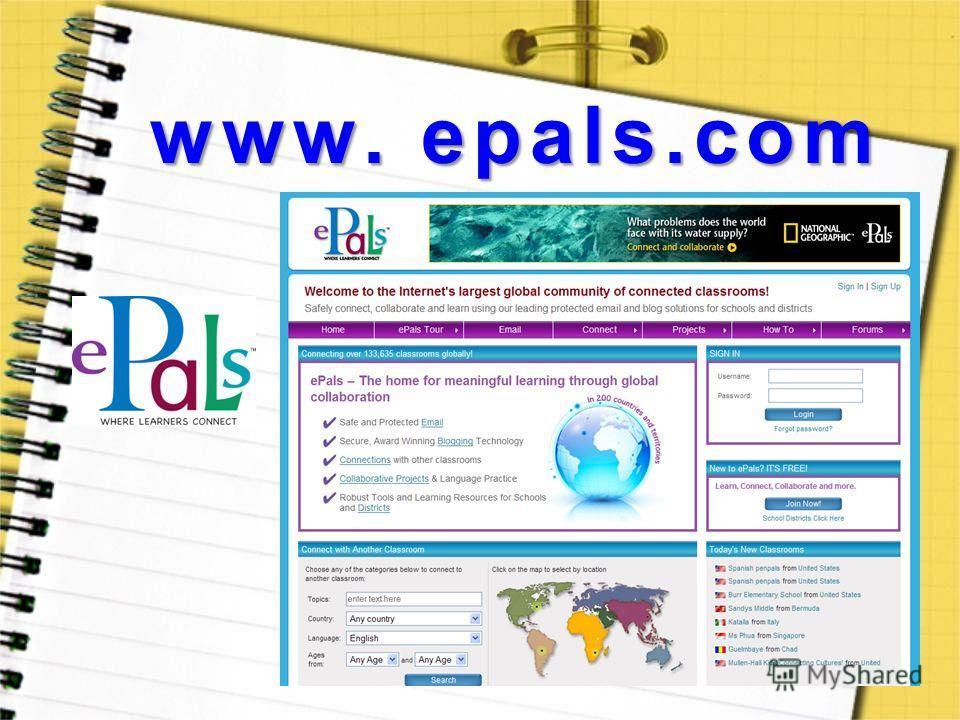 www. epals.com