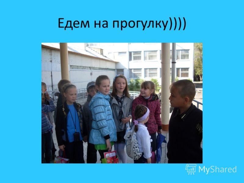 Едем на прогулку))))