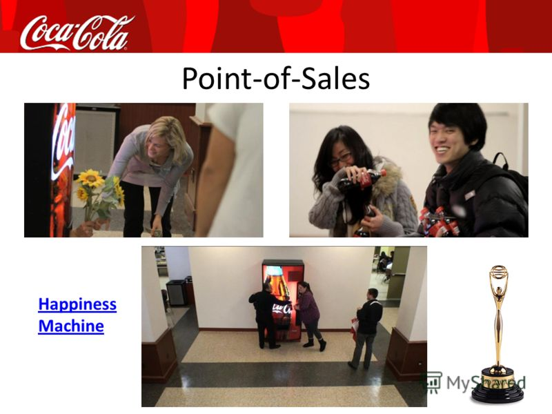 Point-of-Sales Happiness Machine