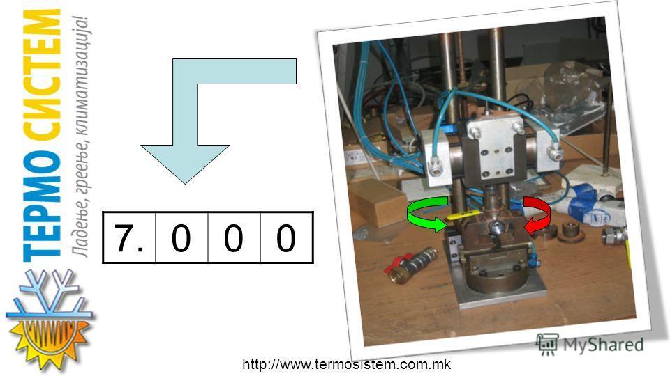 http://www.termosistem.com.mk ЦИКЛУСИ НА GIACOMINI ТОПЧЕСТИ ВЕНТИЛИ: КОНТИНУИРАНО РАБОТЕЊЕЛАБОРАТОРИЈА Димензии Број на отварања и затварања ½ 7.000 Од ¾ до 14.500 Од 1 1/4 до 22.000