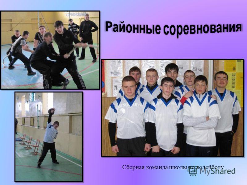 Сборная команда школы по волейболу