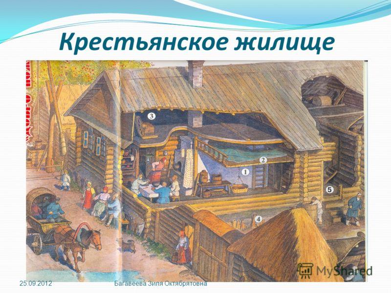 Крестьянское жилище 25.09.2012Багавеева Зиля Октябрятовна
