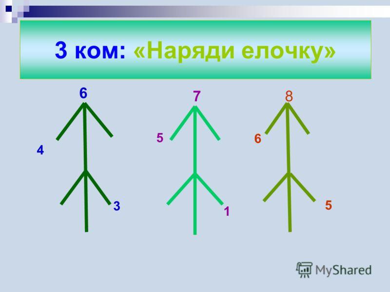 2 ком: Решите примеры
