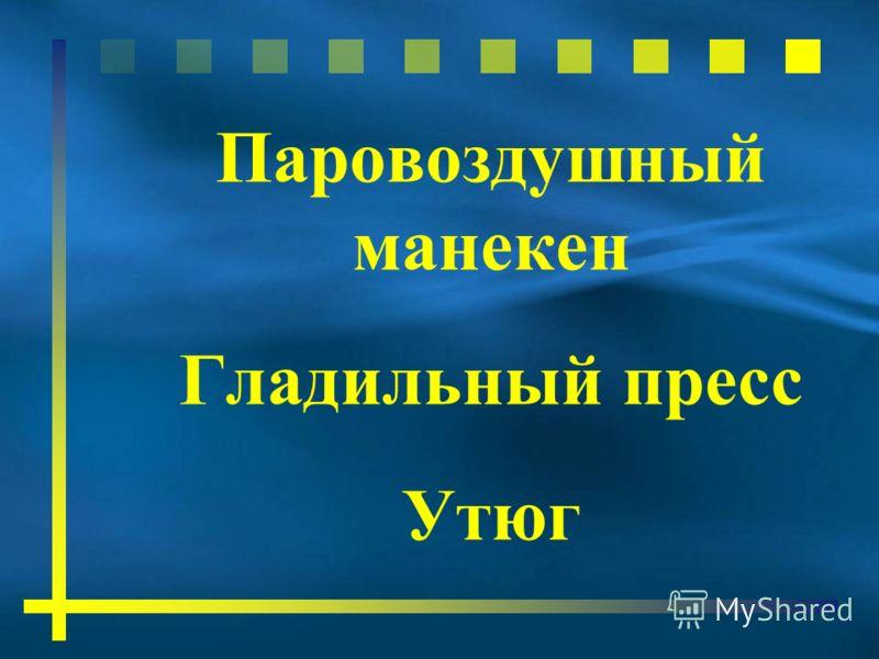 Паровоздушный манекен Гладильный пресс Утюг