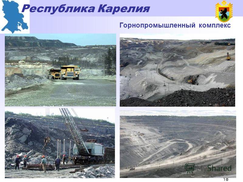 Республика Карелия 17 Динамика физического объема производства, в % к 1998 г.