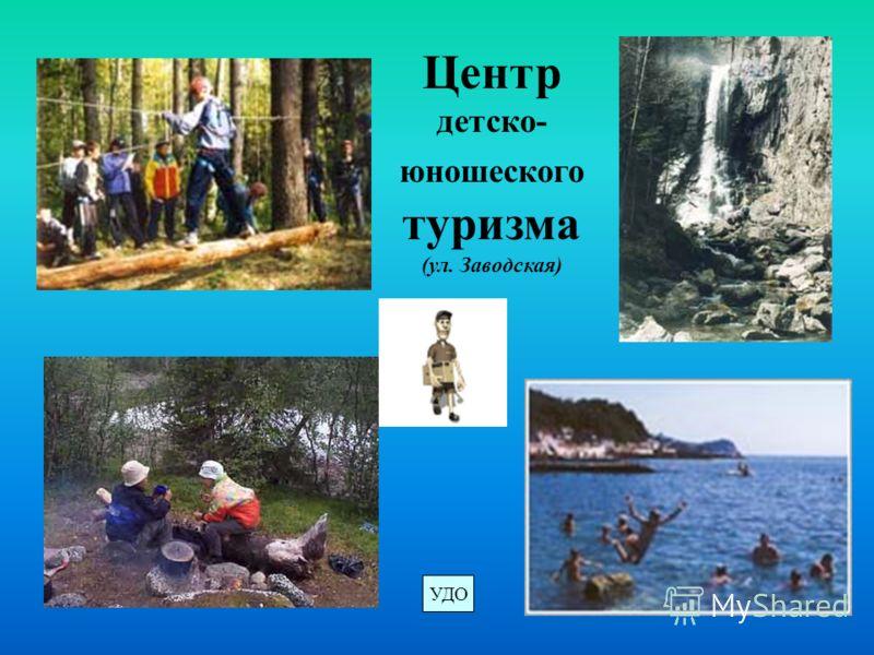 Центр детско- юношеского туризма (ул. Заводская) УДО