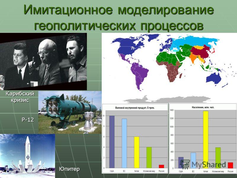 Имитационное моделирование геополитических процессов Юпитер Р-12 Карибский кризис