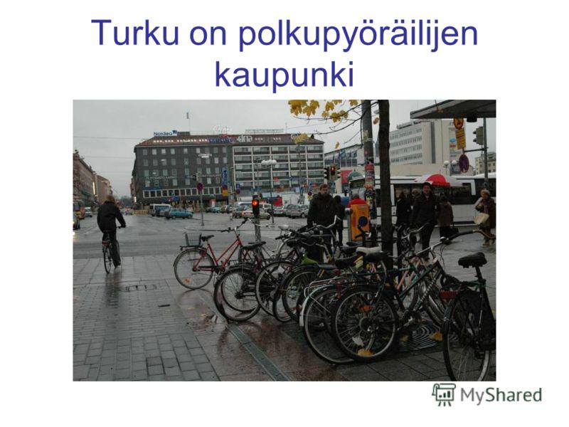 Turku on polkupyöräilijen kaupunki