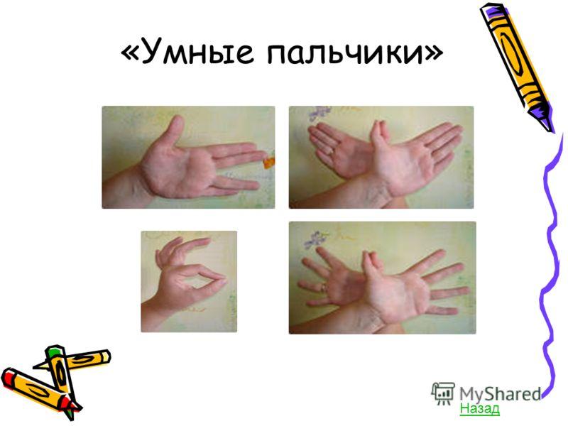 Умные пальчики назад