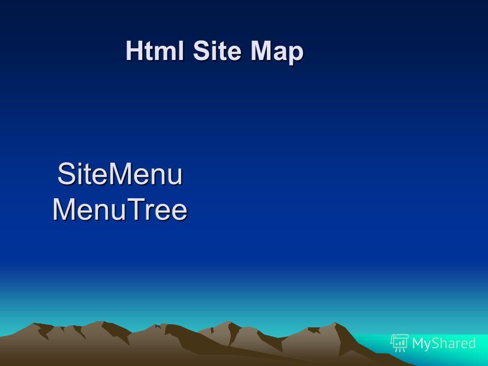 Html Site Map Html Site Map SiteMenu MenuTree