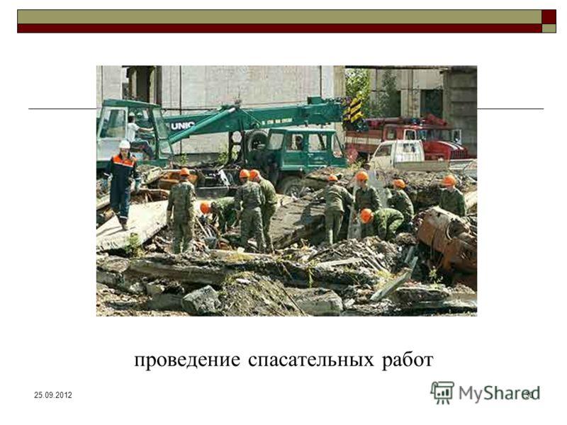 25.09.201230 проведение спасательных работ