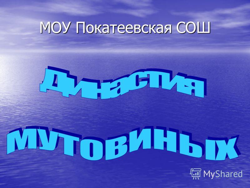 МОУ Покатеевская СОШ
