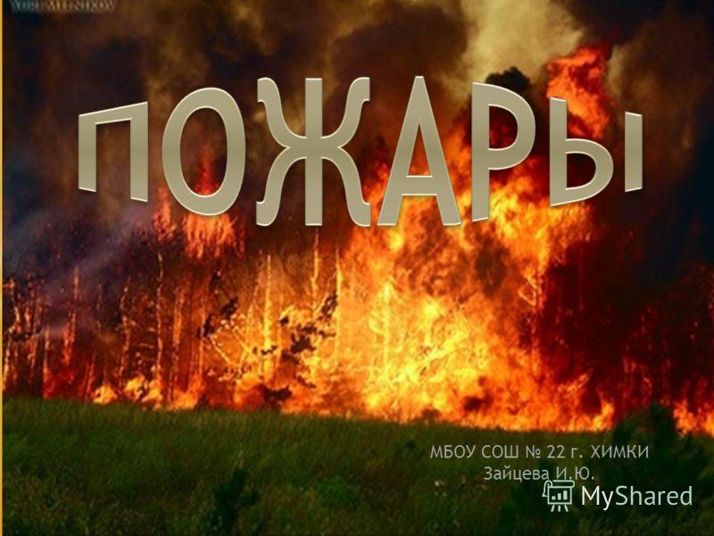 МБОУ СОШ 22 г. ХИМКИ Зайцева И.Ю.