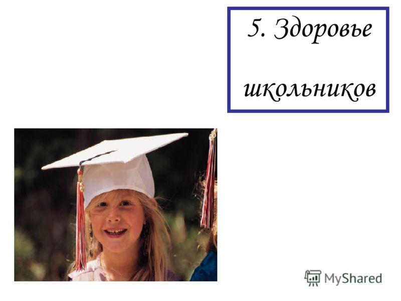 5. Здоровье школьников