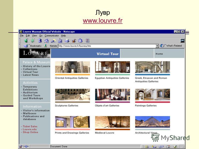 Лувр www.louvre.fr www.louvre.fr