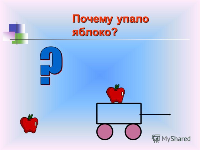 ОПЫТ 2. Почему падает брусок? И в какую сторону?