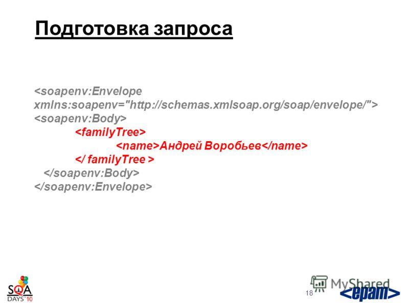 Подготовка запроса 18 Андрей Воробьев