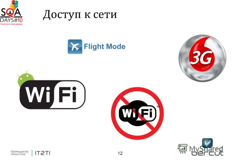 12 Доступ к сети