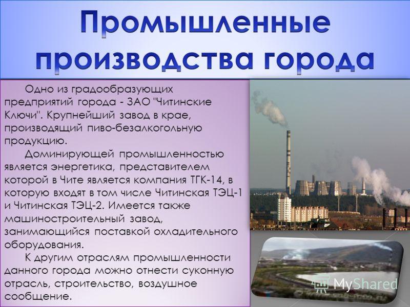 Одно из градообразующих предприятий города - ЗАО