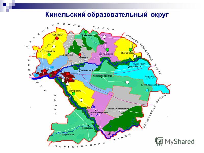 Аул Гурьевка Кутулук Б.Малышевка Кинельский образовательный округ